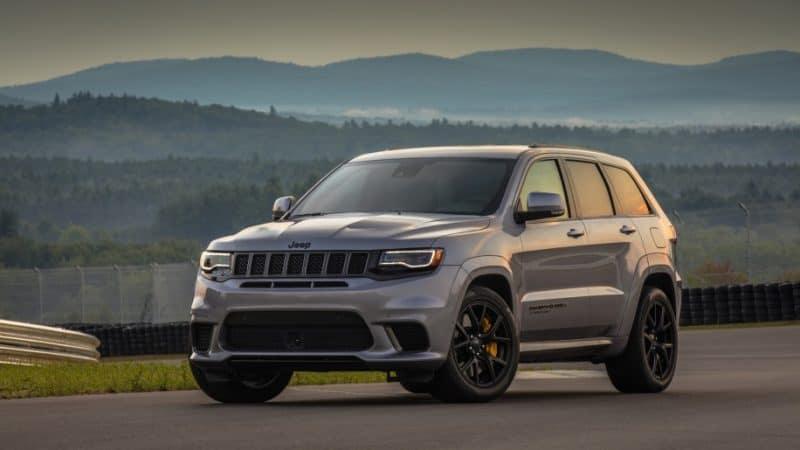 Badass SUV 2018 Jeep Grand Cherokee Trackhawk