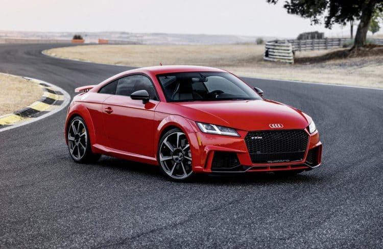 2018's Most Badass Cars - Audi TT RS