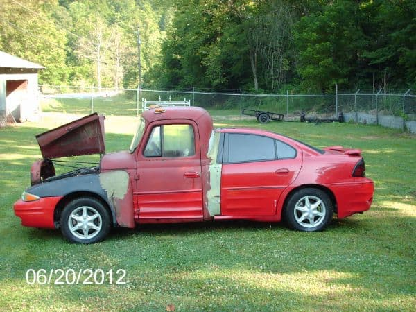 Sometimes WTF jacked up trucks do not turn out well.