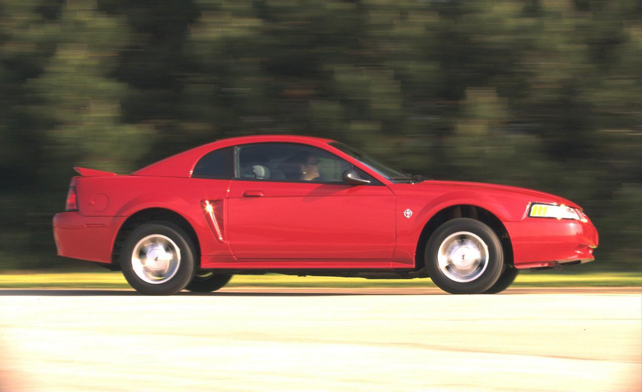 The fourth-gen Ford Mustang is a classic girl car.