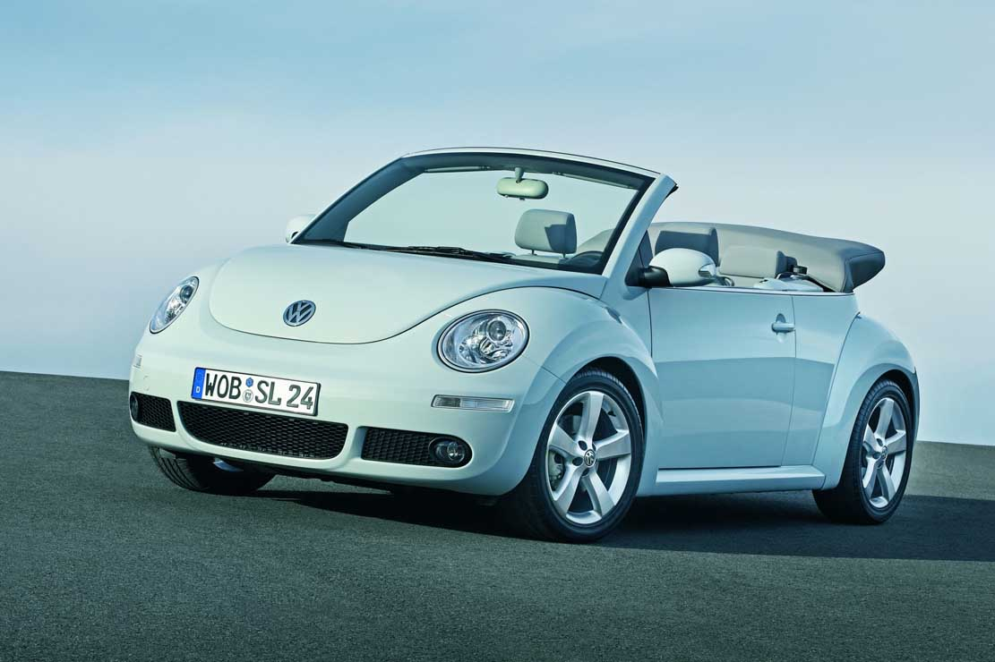 The VW New Beetle is a girl car from any point of view.