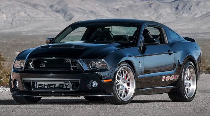 2013 Ford Mustang Shelby 1000 SC