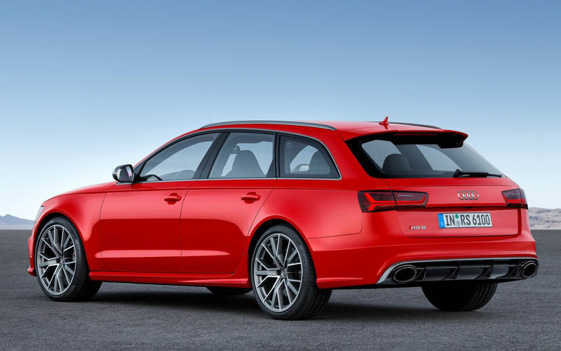 Audi Wagons 2017 Audi RS6 Avant Performance