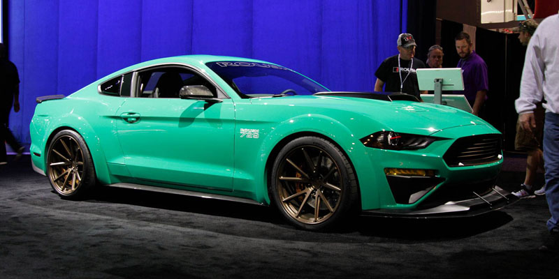 2018 Ford Mustang 729 Wide Body Triathlete Roush Performance