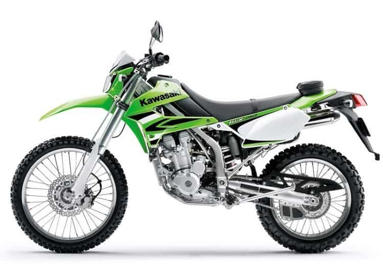 Kawasaki KLX Side View