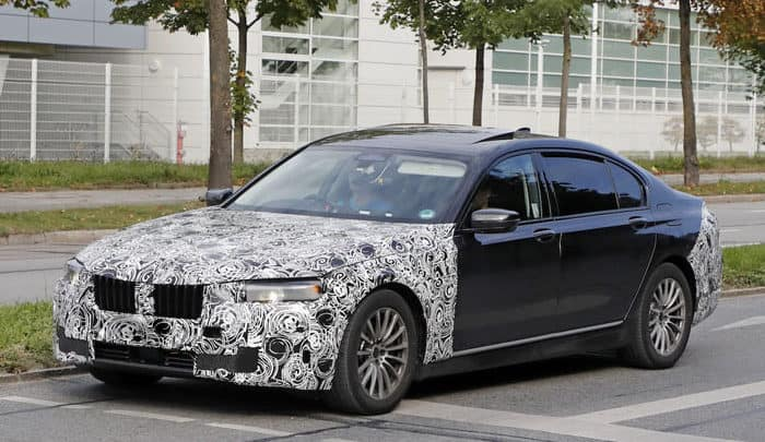2019 BMW 7 Series test mule