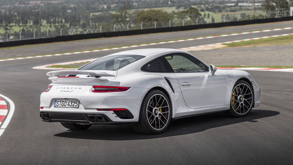 Porsche 911 Turbo S Porsche 911 Turbo S Rear 3/4   Best AWD Sports Cars