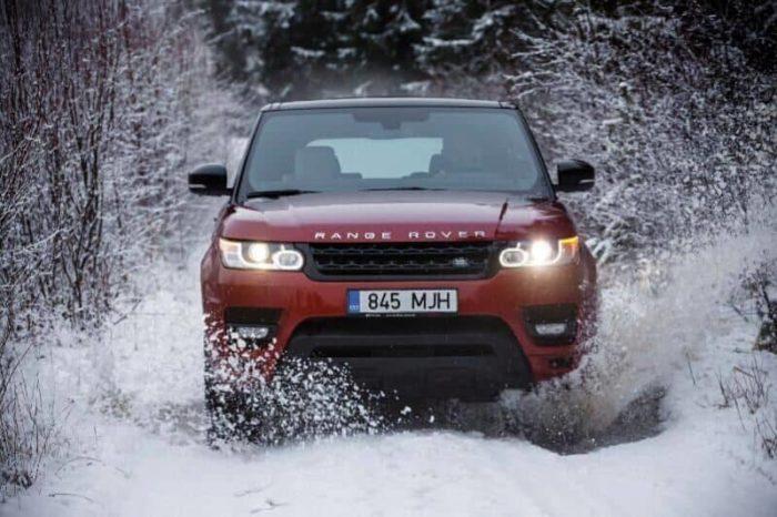 All Wheel Drive Sports Car - Range Rover