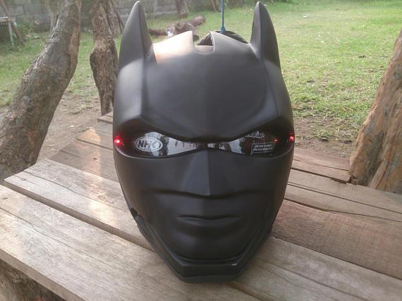 Batman Themed Helmet