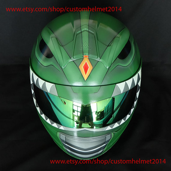 Power Rangers Motorcycle Helmet