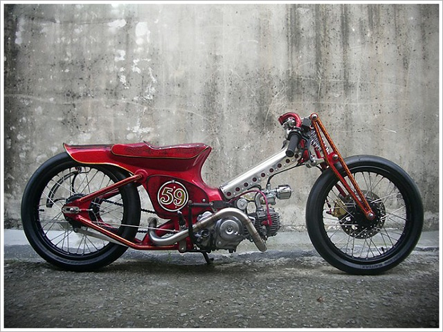 Custom Scooters 3 - The Redman '59 by AFS Taiwan