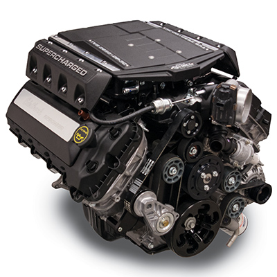 Edelbrock Supercharged Coyote - Ford Crate Motors
