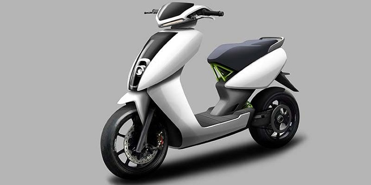 Street Legal Electric Scooter - Ather Energy S340