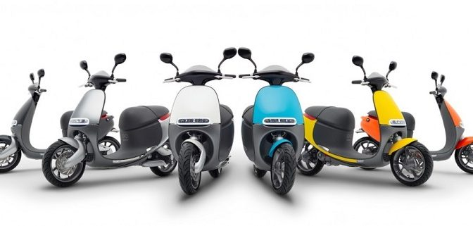 Electric Scooter - Gogoro Line Up 2