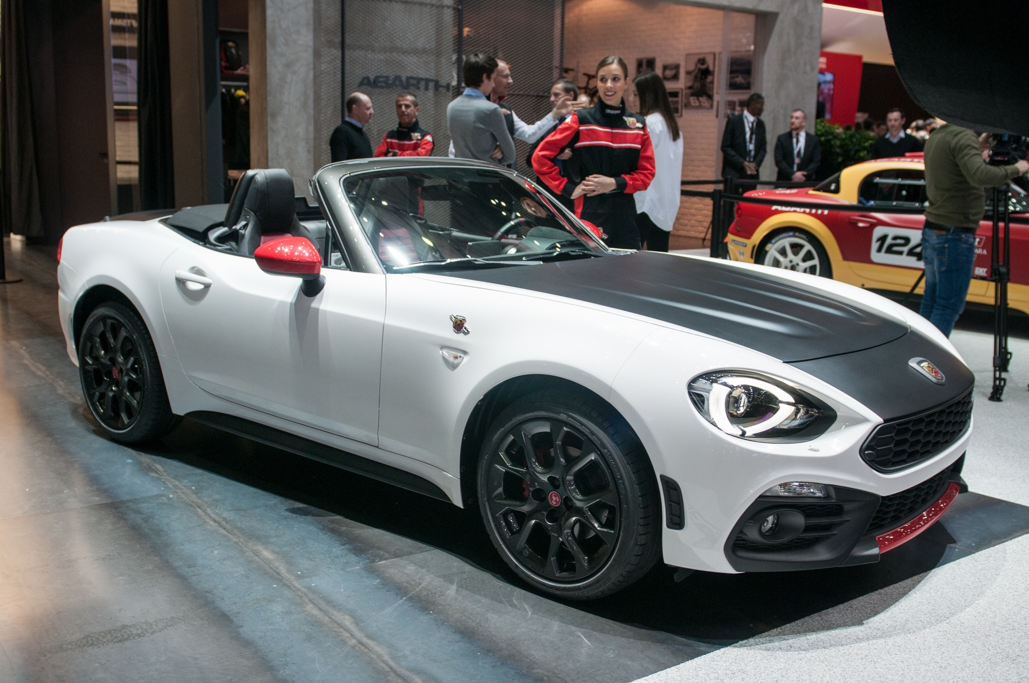 The Fiat Abarth 124 Spider is a great girl car.