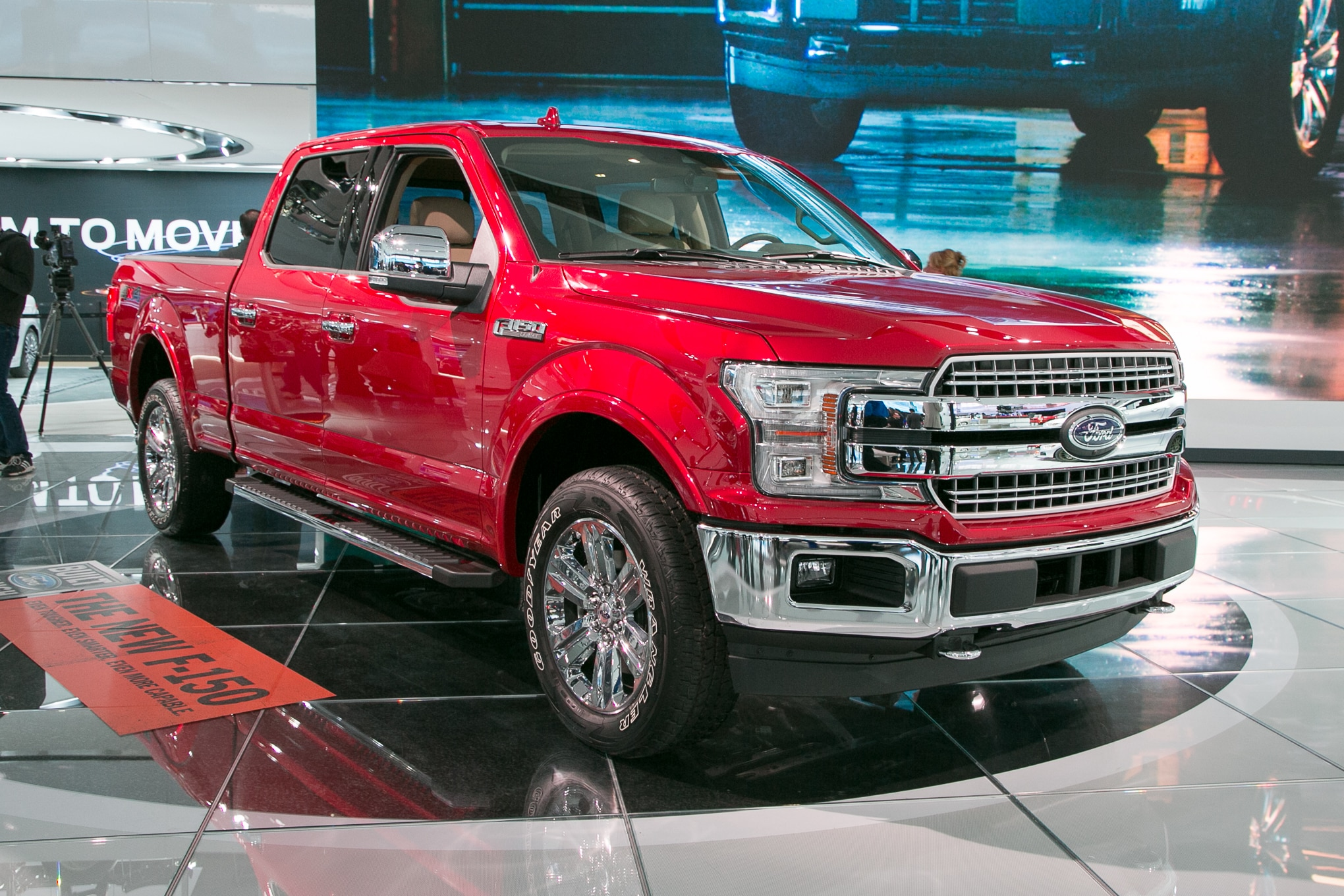 The 2018 Ford F150 is a girl car.