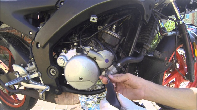Home Motorcycle Repair - Coolant 2