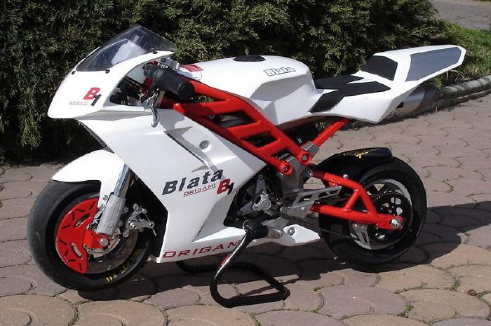 Mini Motorcycle - Blata Origami B1 2
