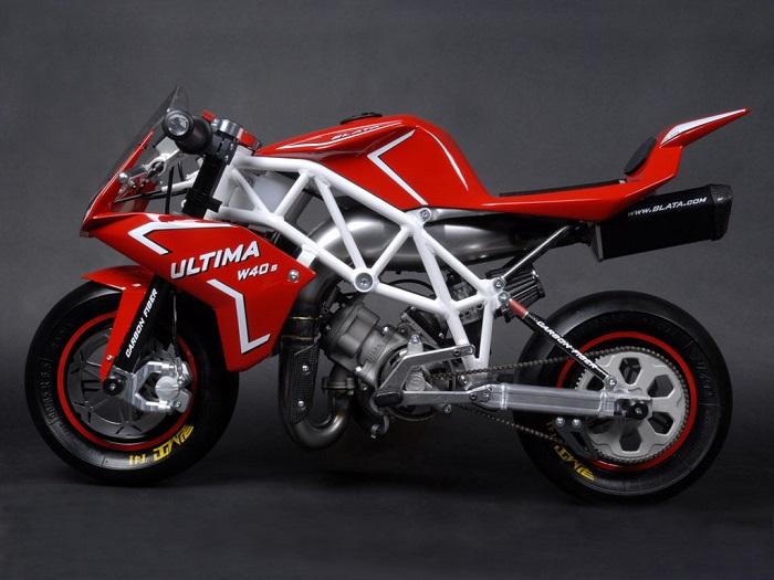 Mini Motorcycle - Blata Ultima W40 1