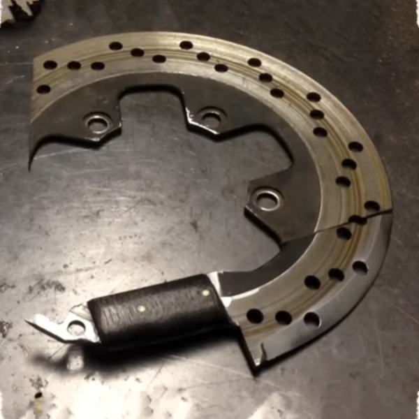 Motorcycle Salvage - Disc Brake Knife