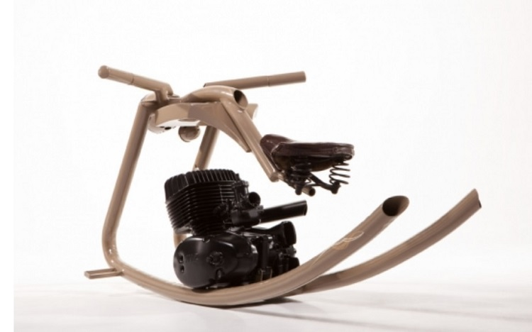 Motorcycle Salvage - Rocking Horse 2