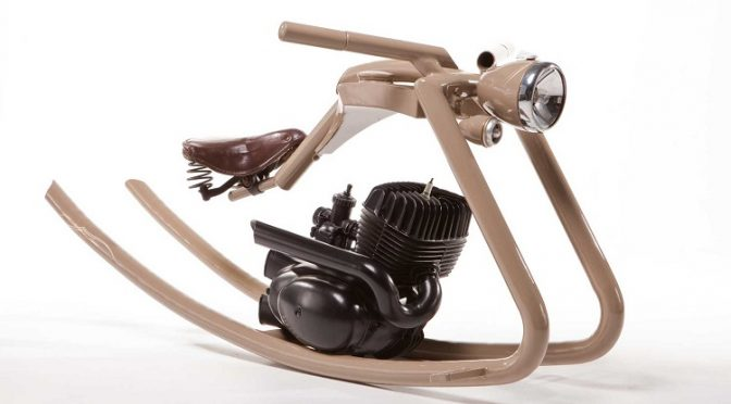 Motorcycle Salvage - Rocking Horse