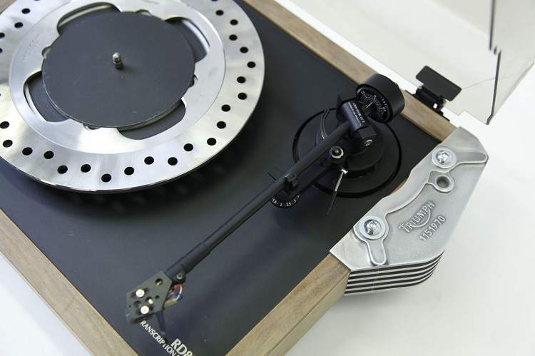 Motorcycle Salvage - Turntable