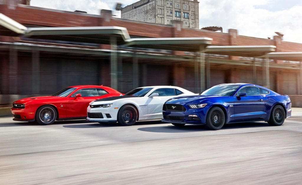American Muscle Lineup