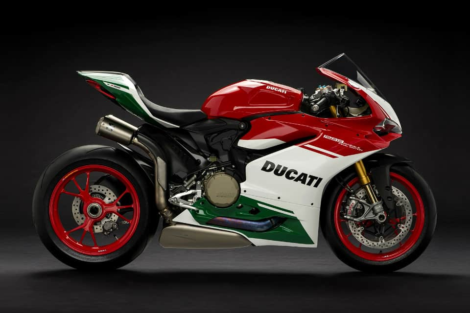 Power To Weight Ratio List - Panigale R Final Edition