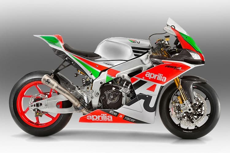 Power To Weight Ratio List - Aprilia RSV4 FW-GP
