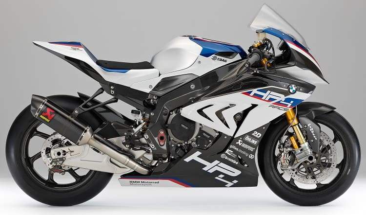 Power To Weight Ratio List - BMW HP4 Race