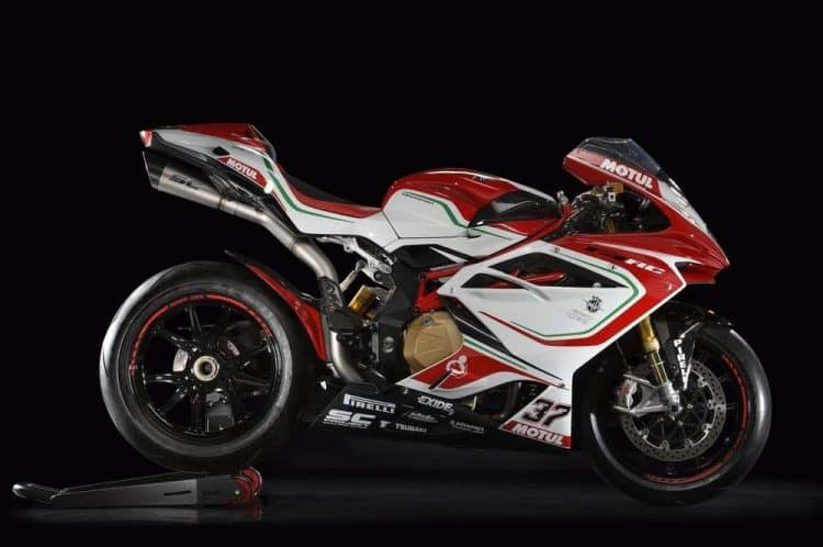 Power To Weight Ratio List - MV Agusta F4 RC