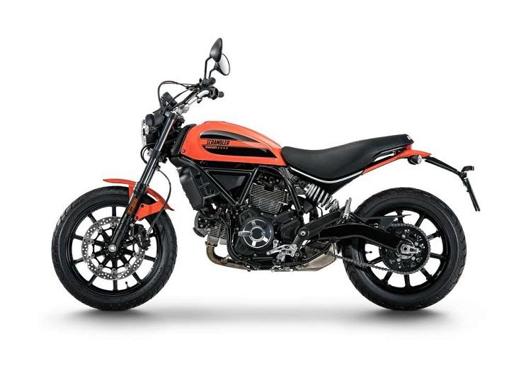 Ducati Scrambler Sixty2 Side Shot