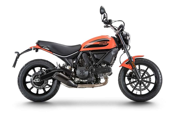 Ducati Scrambler Sixty2 Side View