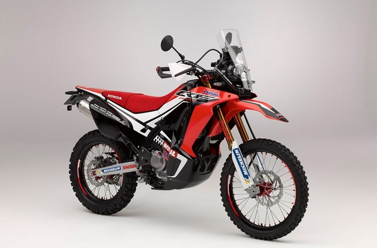 Honda CRF250 Rally Front Side