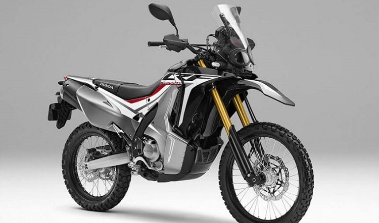 Honda CRF250 Rally Black and White