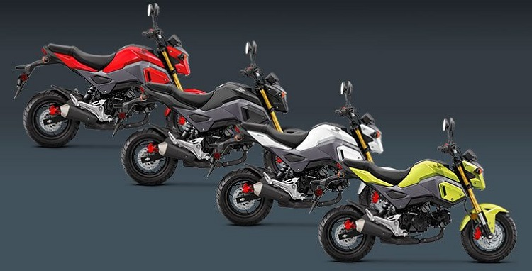 Small Motorcycles - Honda Grom 1