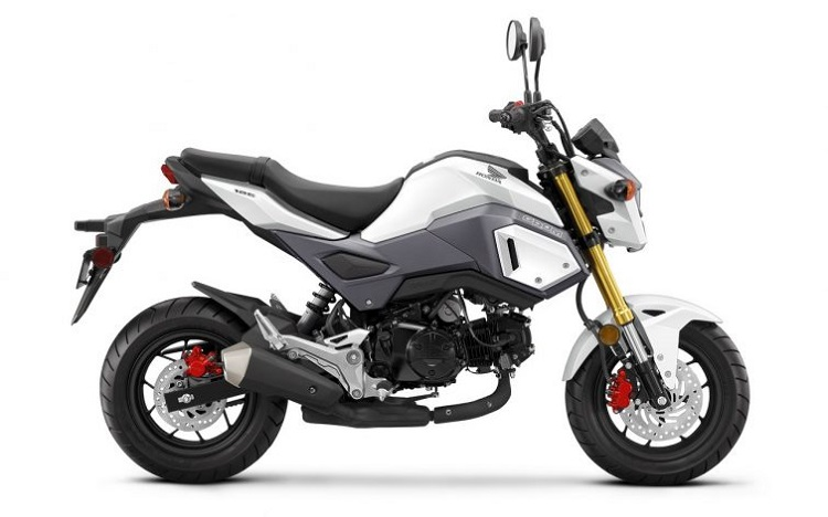 Honda Grom Side View