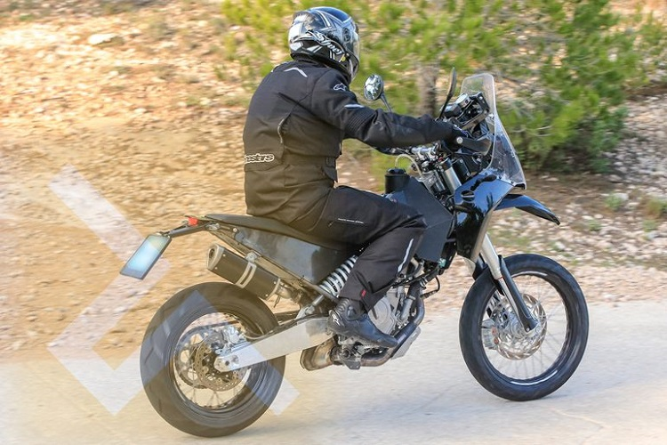 KTM 390 Adventure Spy Shot Road Test