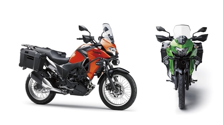 Kawasaki Versys-X 300 Front And Side View