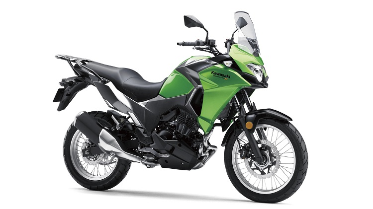 Kawasaki Versys-X 300 Front Side View