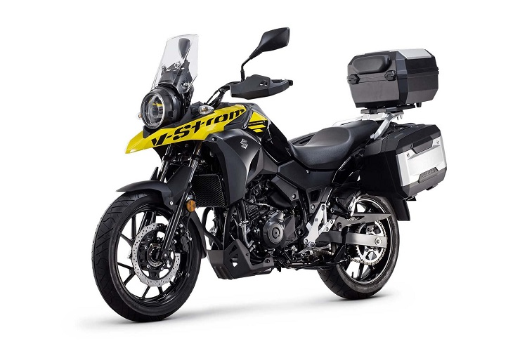 Suzuki V-Strom 250 Front Side View