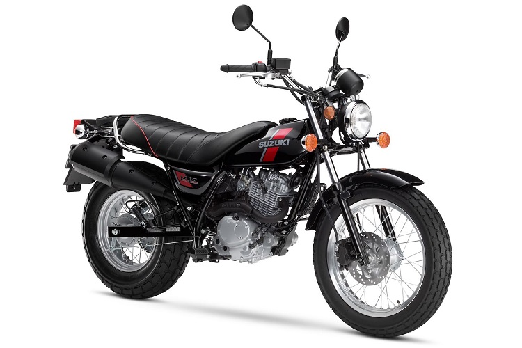 Small Motorcycles - Suzuki VanVan 200 1