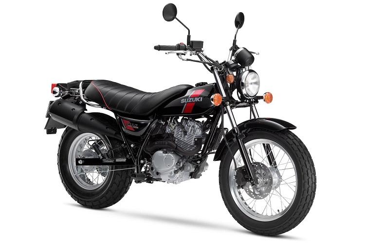 Suzuki VanVan 200 Front View