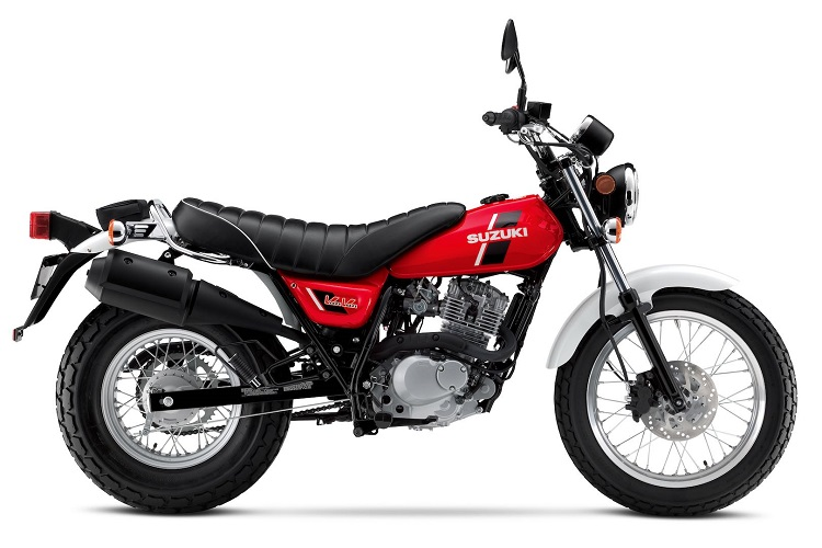 Suzuki VanVan 200 Side Shot