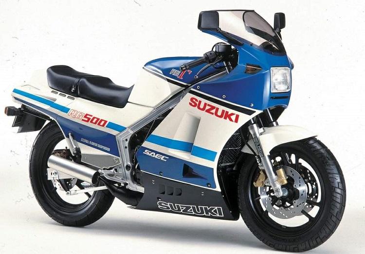Best Suzuki Bikes List - RG500 Gamma