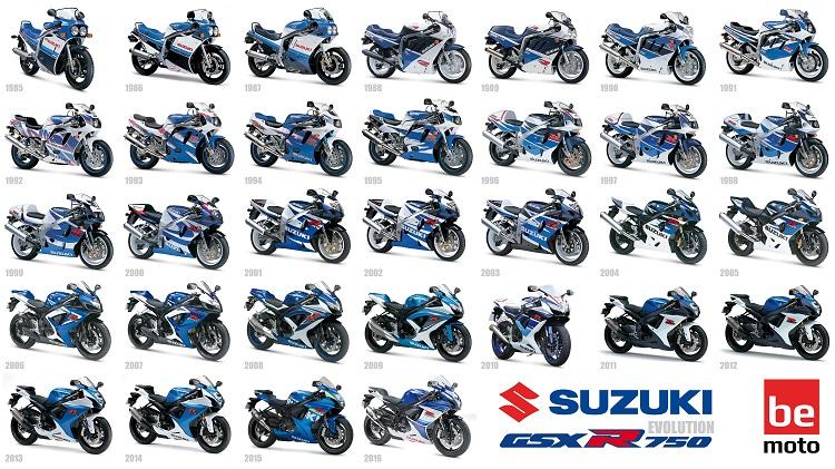 Best Suzuki Bikes List - Suzuki GSX-R Evolution 1