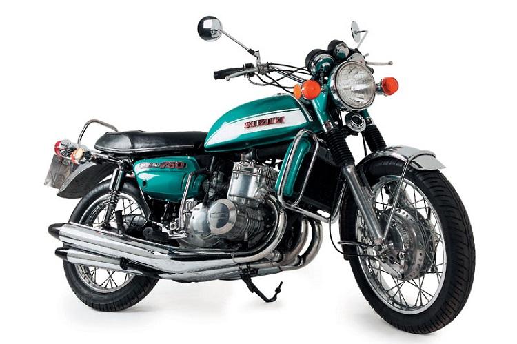 Best Suzuki Bikes List - Suzuki GT750