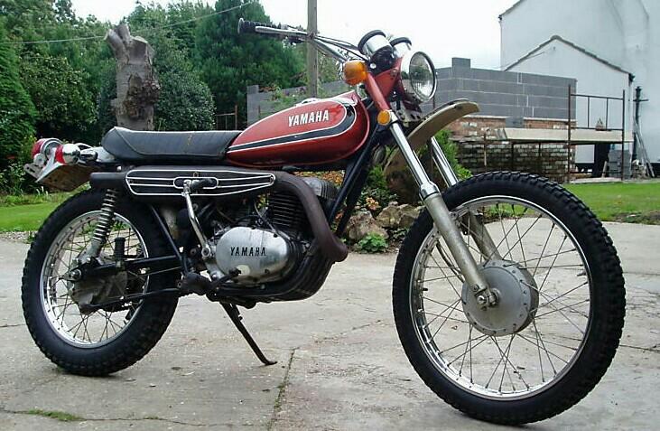 Yamaha Enduro Bikes - 1973 RT360 Enduro