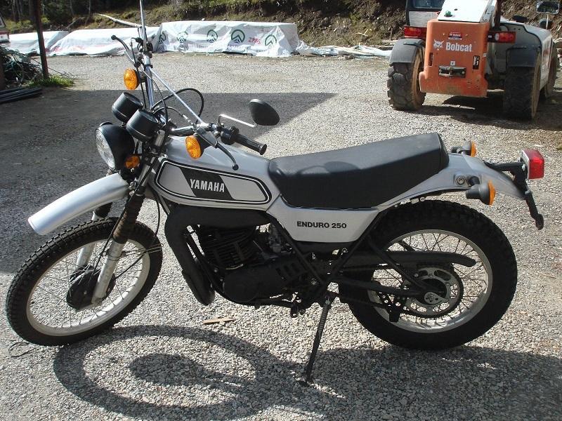 Yamaha Enduro Bikes - 1978 DT250